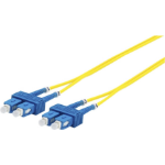 Microconnect FIB221015-FLAT fibre optic cable 15 m OS2 SC/UPC Yellow