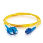 C2G 11192 6m LC SC Yellow Fiber Optic Cable