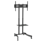 LogiLink BP0026 multimedia cart/stand Black Flat panel