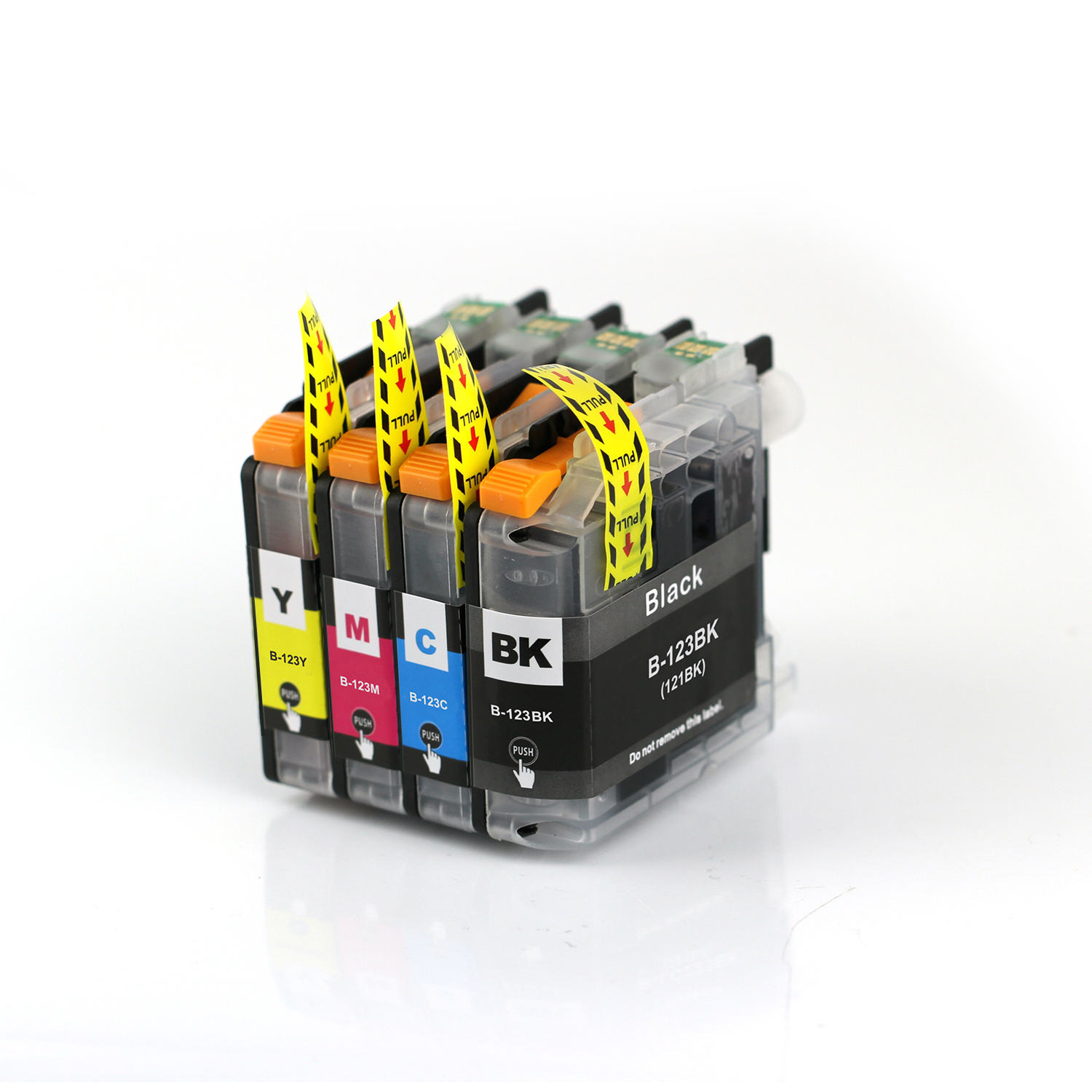 Compatible Brother LC-123 Multipack