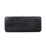 V7 KU300DE toetsenbord USB QWERTZ Duits Zwart