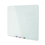 Bi-Office GL080101 magnetic board Glass White