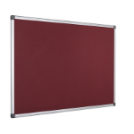Bi-Office FA2133170 insert notice board Indoor Burgundy Aluminium