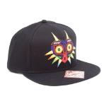 Nintendo Legend of Zelda Majora's Mask Snapback Baseball Cap, Black (SB170114ZEL)