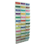 ESSELTE CLIPLOCK BROCHURE HOLDERS A5 36 POCKETS