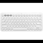 Logitech K380 Multi-Device Tastatur Bluetooth Schweiz Weiß