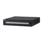 Dahua Europe Ultra NVR608R-128-4KS2 2U Black network video recorder