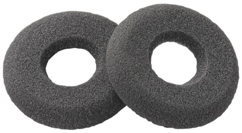 Plantronics 40709-02 headphone pillow Black 2 pc(s)