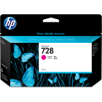 HP F9J66A (728) Ink cartridge magenta, 130ml
