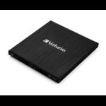 Verbatim External Slimline optical disc drive Blu-Ray RW Black