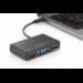 Digitus DA-70848 base para portátil y replicador de puertos Alámbrico USB 3.2 Gen 1 (3.1 Gen 1) Type-C Negro