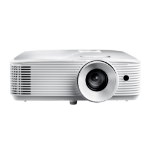 Optoma HD29H data projector 3400 ANSI lumens DLP 1080p (1920x1080) 3D Desktop projector White