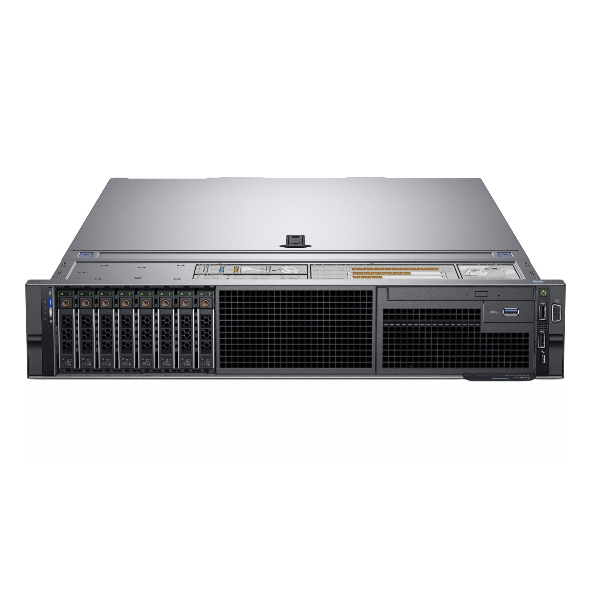 DELL PowerEdge R740 server Intel® Xeon® Gold 2.3 GHz 32 GB DDR4-SDRAM Rack 2U 750 W