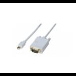 Hypertec 127798-HY video cable adapter 3 m Mini DisplayPort DisplayPort White