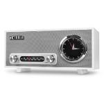 Victrola VC-150-WHT radio Clock Analog White