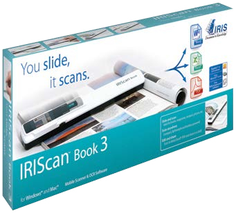 I.R.I.S. IRIScan Book 3 900 x 900 DPI White