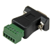 StarTech.com RS422 RS485 Serial DB9 to Terminal Block Adapter DB92422