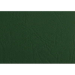 GBC PRESENTATION COVER LEATHERGRAIN A4 100 PACK GREEN