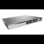 Cisco 3850-24S-S Managed L3 Gigabit Ethernet (10/100/1000) 1U Zwart, Grijs