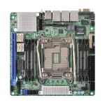 Asrock EPC612D4I server/workstation motherboard LGA 2011 (Socket R) Intel® C612 Mini-ITX