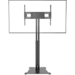 "Vision VFM-F30/FP/10X6 flat panel floorstand 2.29 m (90"") Fixed flat panel floor stand Black"
