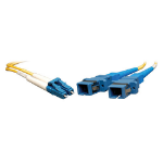 Tripp Lite Duplex Singlemode 8.3/125 Fiber Adapter (LC-SC M/F) 0.3M (1-ft.)