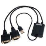 ST Lab U-700 interface hub USB 2.0 Black