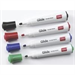 Nobo Glide Dry wipe Markers Assorted (4)