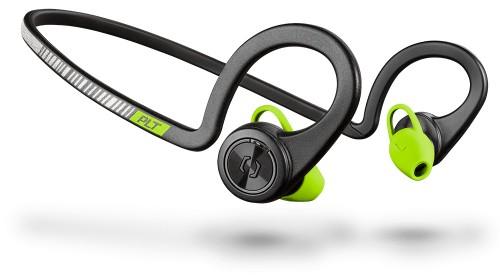 Plantronics BackBeat FIT Neck-band Binaural Wireless Black, Green mobile headset