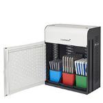 lockncharge LNC8200FRANCE charging station organizer Desktop & wall mounted Metal, Steel Black, White