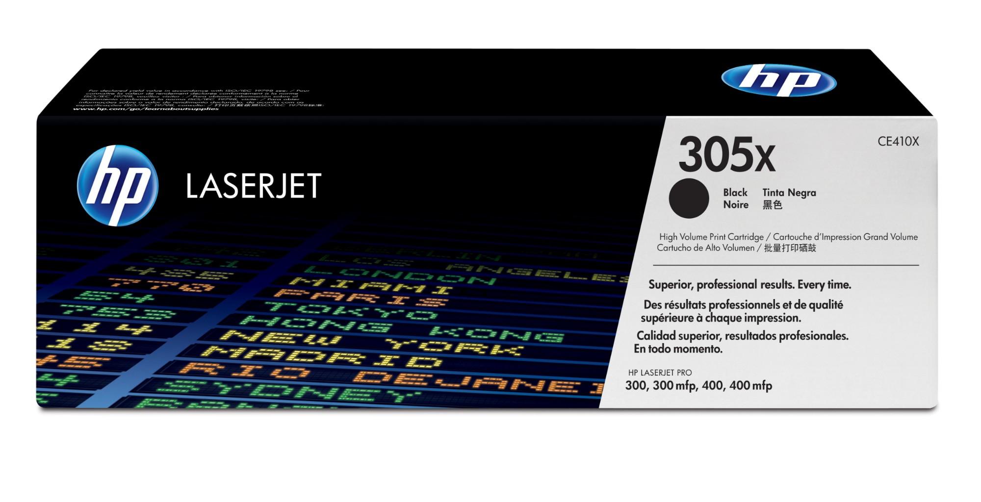 HP 305X Origineel Zwart 1 stuk(s)
