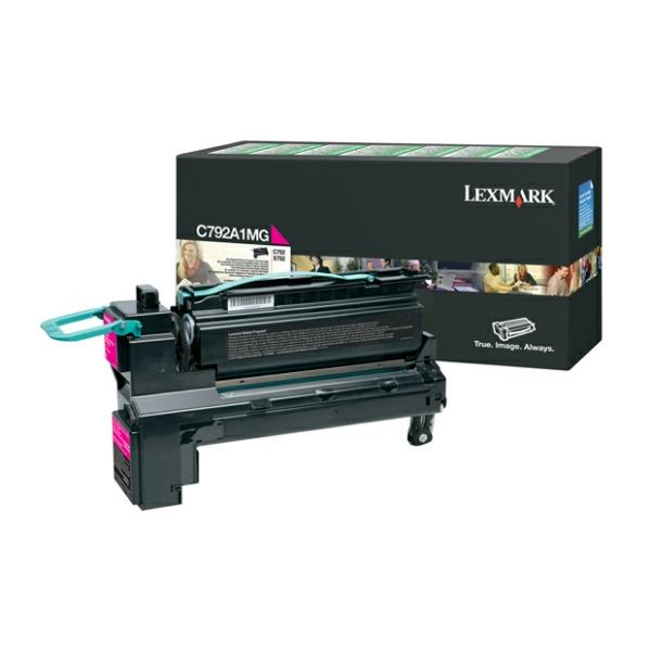 Lexmark C792A1MG Toner magenta, 6K pages