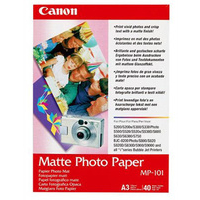 CANON MP-101 A3 PAPER PHOTO 40 SHEETS PHOTO PAPER