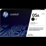 HP CE505A (05A) Toner black, 2.3K pages