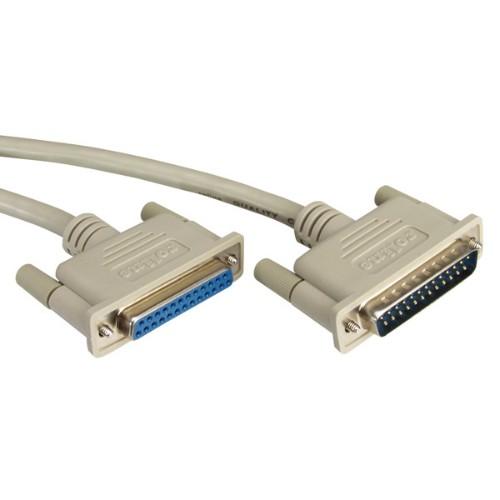 ROLINE RS232 Cable, M - F 6 m