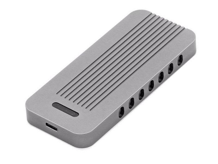 CoreParts MSUB8000 storage drive enclosure HDD/SSD enclosure Grey M.2