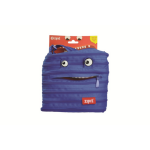 CLEARANCE ZIPIT MINI SHOULDER BAG ZIPIT 21x19cm MONSTER ROYAL BLUE(EACH)