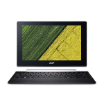 "Acer Switch SW5-017 1.44GHz x5-Z8350 10.1"" 1280 x 800pixels Touchscreen Black,Silver Hybrid (2-in-1)"