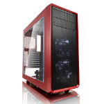 Fractal Design Focus G Midi Tower Black,Red FD-CA-FOCUS-RD-W