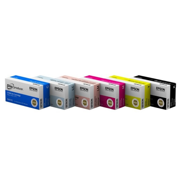 Epson C13S020447 (PJIC1) Ink cartridge cyan, 26ml