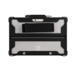 "Max Cases MS-ES-SG-G1-BLK tablet case 25.4 cm (10"") Shell case Black, Transparent"