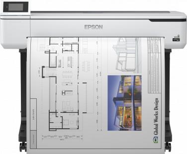 Epson SureColor SC-T5100 large format printer Colour 2400 x 1200 DPI Inkjet A1 (594 x 841 mm) Ethernet LAN Wi-Fi
