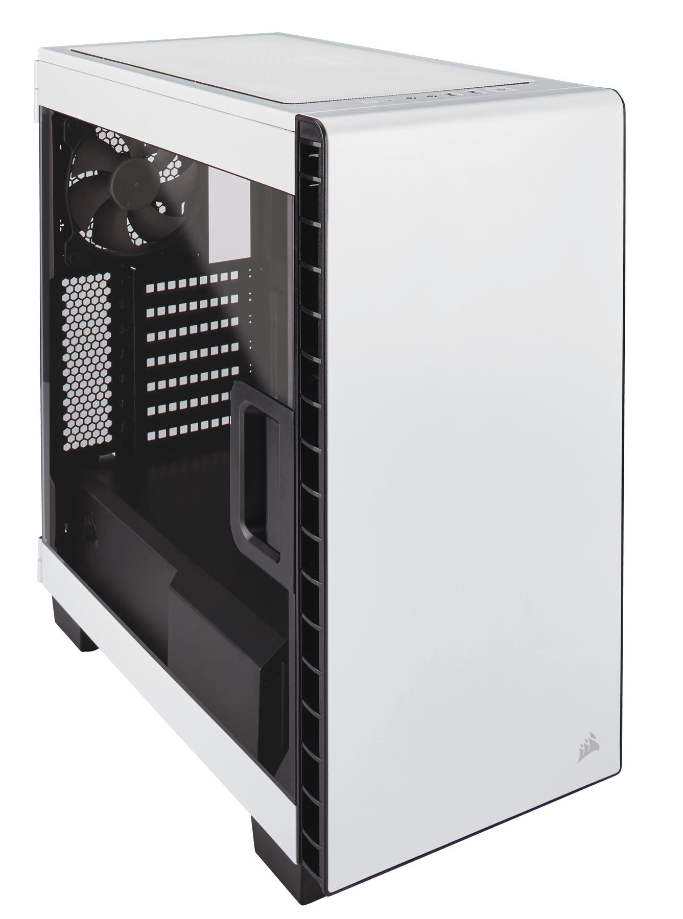 Corsair Carbide Clear 400C Midi-Tower White computer case