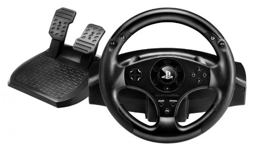 Thrustmaster T80 Steering wheel + Pedals Playstation 3,PlayStation 4 Black