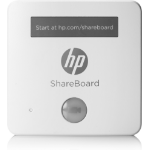 HP ShareBoard webcam