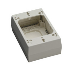 Black Box 36974 outlet box Ivory