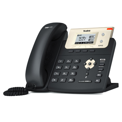 Yealink SIP-T21P E2 Wired handset LCD Black IP phone