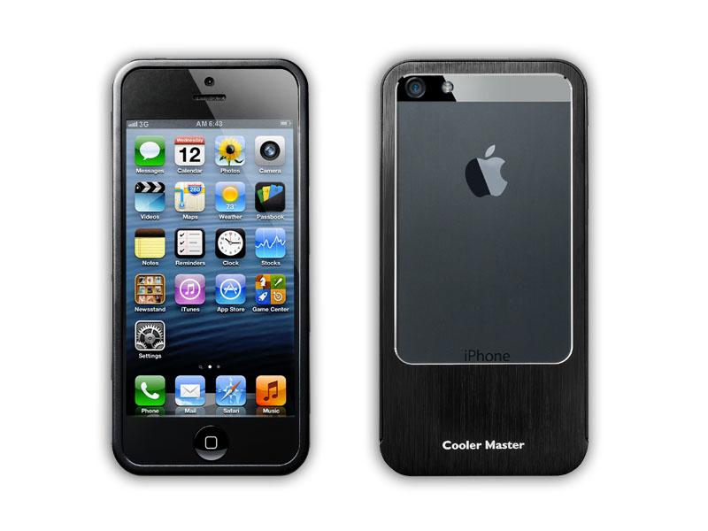 iPhone 5 Aluminum Bumper Black