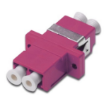 Digitus DN-96019-1 LC/LC Pink fiber optic adapter