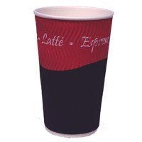 Caterpack Ripple Cups 12oz (35cl) PK25